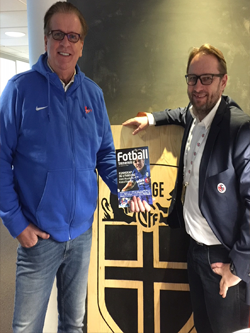 Geson & Tom Fodstad Commercial Director in Norwegian Football Association