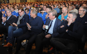 The CUPFINALESEMINAR 2016, the largest Football Coaches Conference in the Nordic Region/Countries.