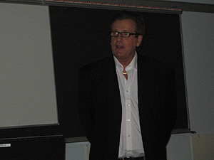 Inspiration-lecture at College in Narvik October 2010
