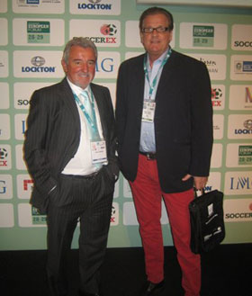 Terry Venebles & Geson, at Soccerex Forum in Manchester 28-29 March 2012.